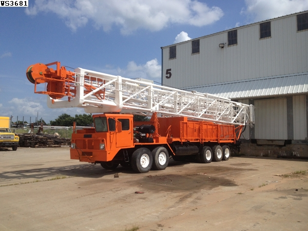 7a60b57f11 FRANKS 38x10-38x10 DD Well Service Unit wPARMAC - Drilling Rigs for ...