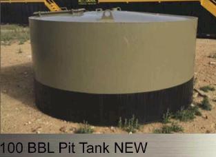100 bbl. Pit Tank