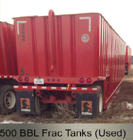 500_BBL_Frac_Tanks_(Used) - Drilling Rigs for Sale