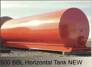 500 BBL Horizontal Tank