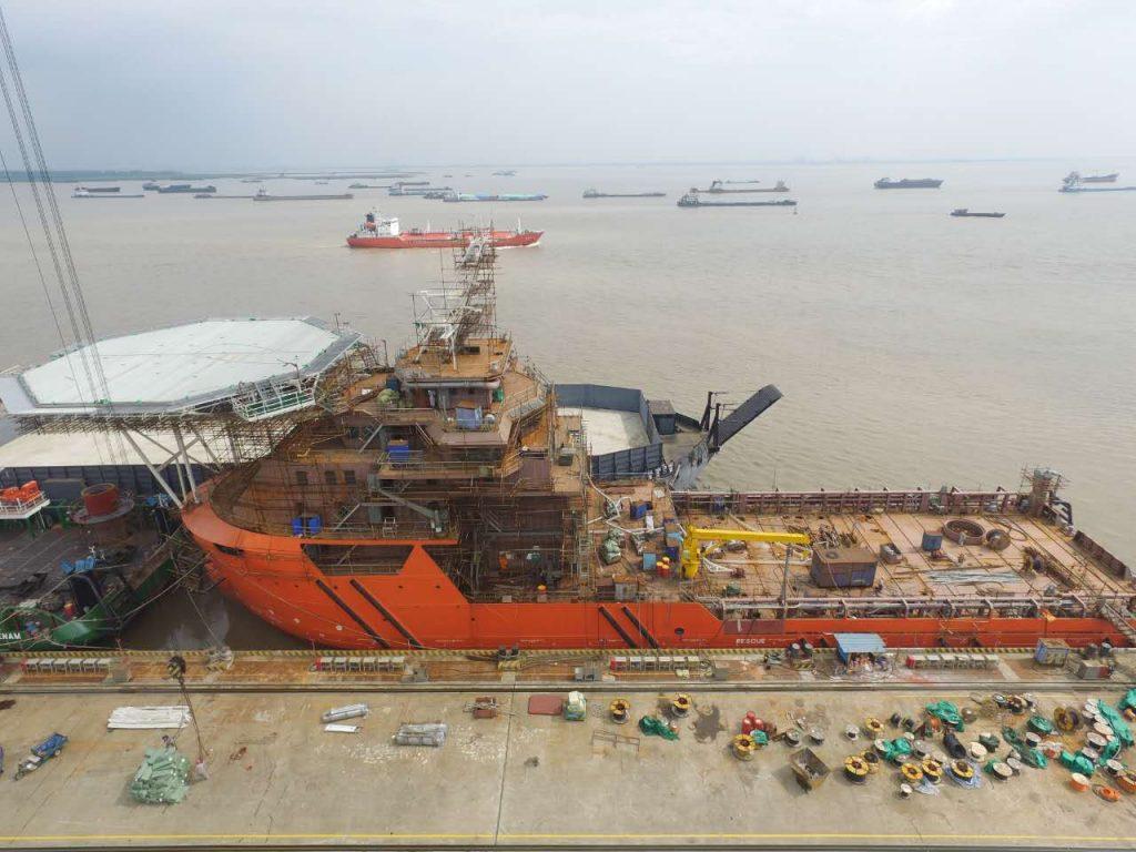 Sub-sea Supply and Maintenance Vessel